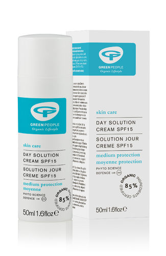 Green People Day Solution SPF15 päivävoide 50 ml