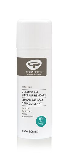 Green People Sensitive Cleanser & Make Up Remover 150 ml