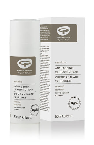 Green People Anti-Ageing 24h Sensitive Cream 50 ml