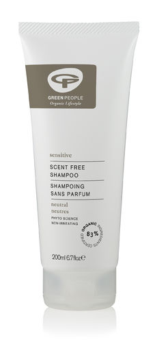 Green People Sensitive Scent Free Shampoo 200 ml