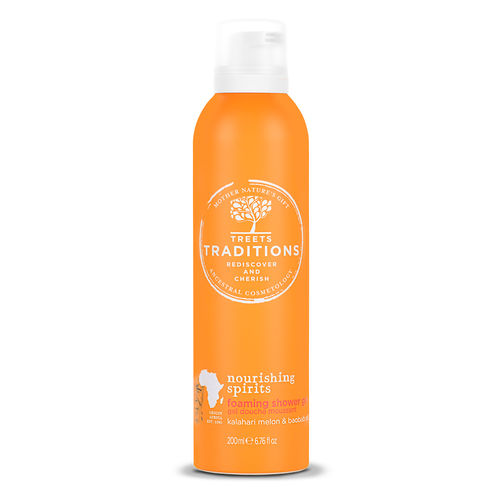 Treets Traditions Nourishing Spirits Vaahtoava suihkugeeli 200ml