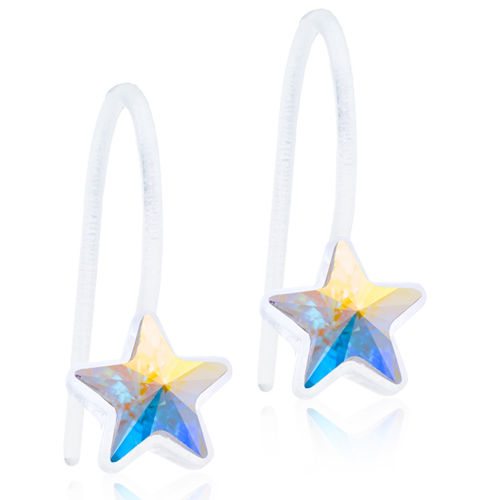 Blomdahl Pendant Fixed Star Rainbow korvakorut Medical Plastic 6 mm