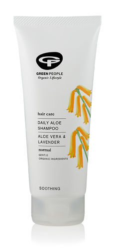 Green People Daily Aloe Shampoo 200 ml