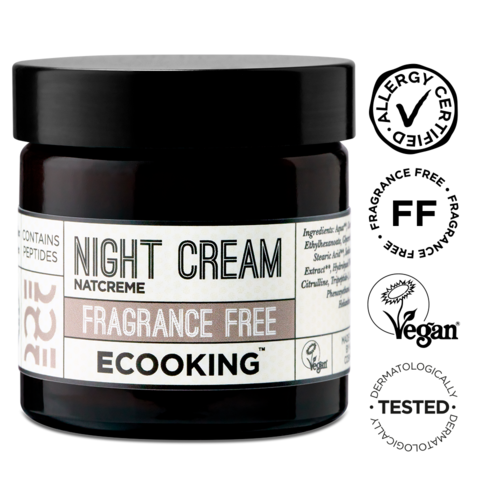 Ecooking Night Cream Fragrance Free yövoide 50 ml