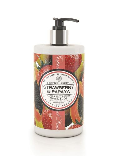 Strawberry & Papaya Hand & Body Lotion 500ml