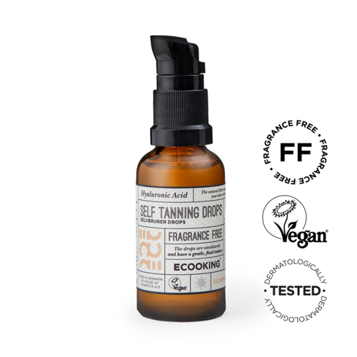 Ecooking Self Tanning Drops itseruskettavat tipat 30 ml