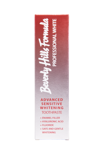 Beverly Hills Formula Professional White Advanced Sensitive Whitening hammastahna 100 ml
