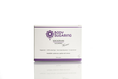Body Sugaring Box - kotisokerointipakkaus 700ml