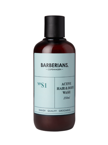 Barberians Active Hair & Body Wash 250 ml