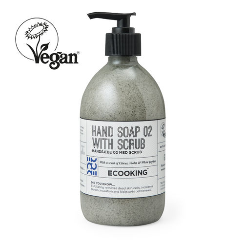 Ecooking Hand soap with scrub käsisaippua 500 ml